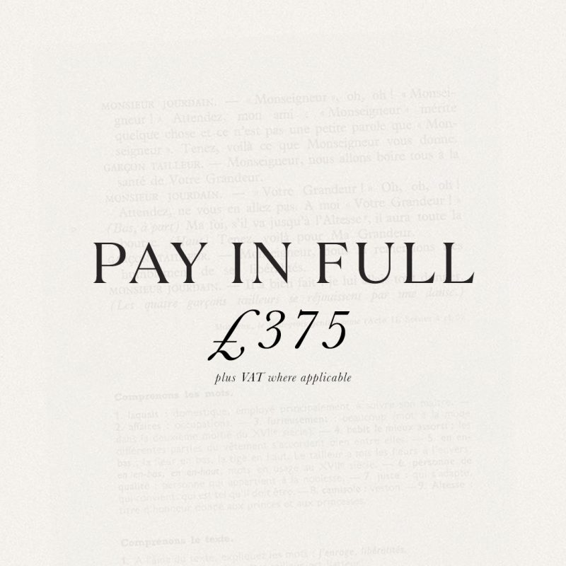 Pay in full Simple